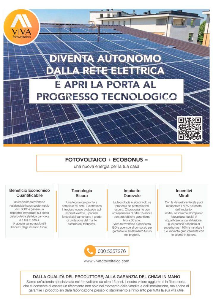 Perchè scegliere il fotovoltaico